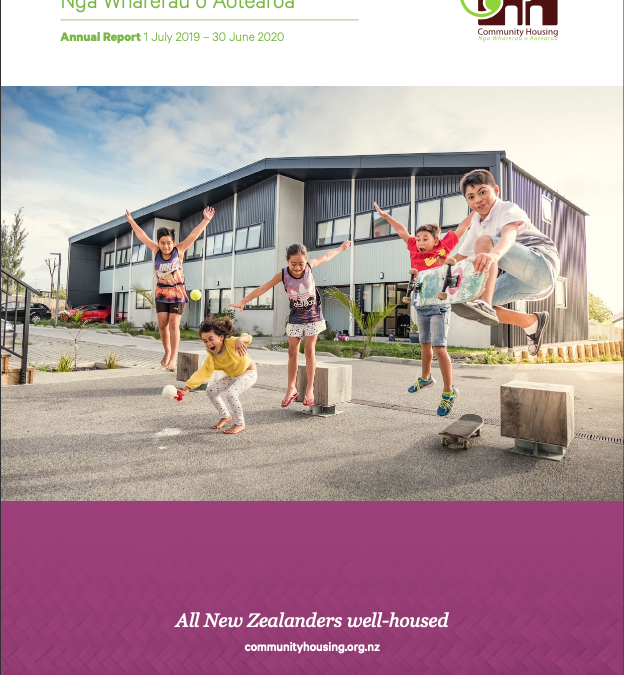 CHA's Annual Report for 1st July 2019 to 30th June 2020