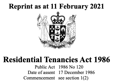Residential Tenancies Act Community of Practice
